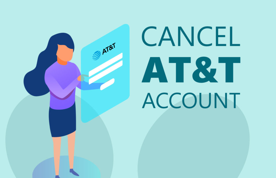 Cancel At&t Account